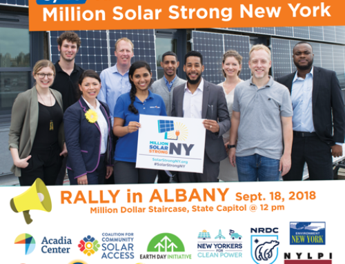 New York Event: Rally & Petition for a Million Solar Strong!