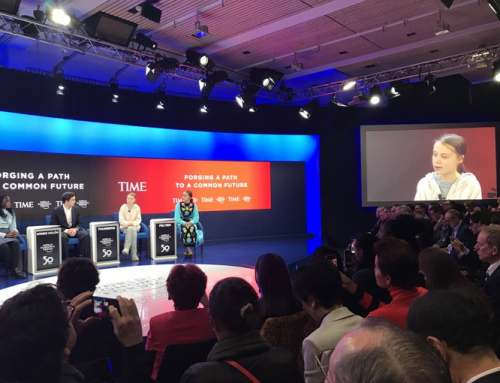 Greta Thunberg Urges Political Action at The World Economic Forum in Davos