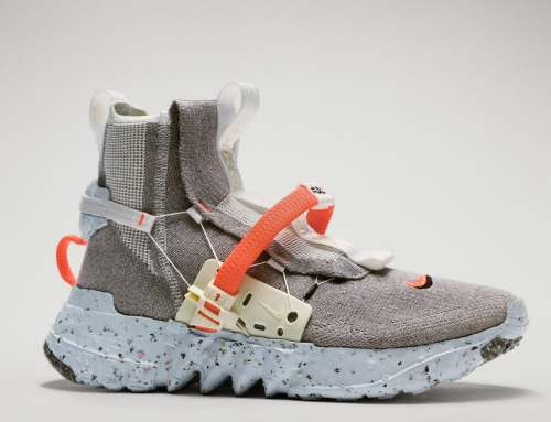 "BEST PRACTICES: Nike's New Efforts Against Global Warming Include 'Green' 2020 Olympics Uniforms and Circular Economy-Inspired ""Space Hippie"" Sneakers Made of Scraps"
