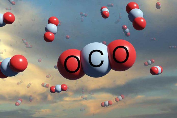 CO2 spheres