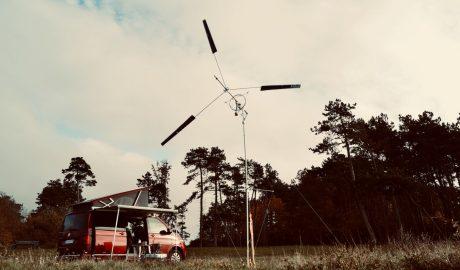 Portable wind turbine innovation. KiteX