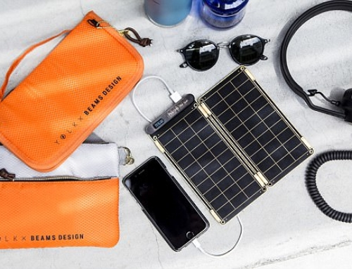 Solar Paper for Recharging Electronics