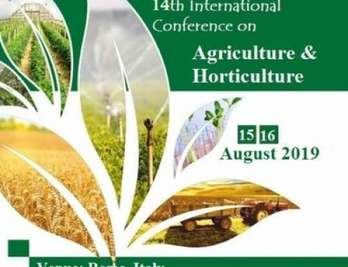 14th International Conference on Agriculture & Horticulture 2019