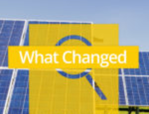 What Changed In The Solar & Energy Storage Industries In 2018?